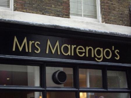 Letter Signs London - Flat Cut Brass Letters - Shop Signs London