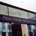 Letter Signs London - Flat cut letters for Field Fisher Waterhouse