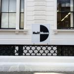 Architectural Signs London, Illuminated Light Box Signs - Half Moon thetre