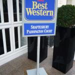 Floor Standing Signs London - Best Western