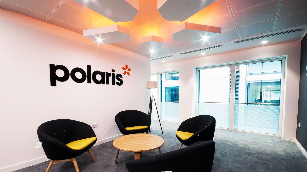 Office Signs London for Polaris, Reception Signage