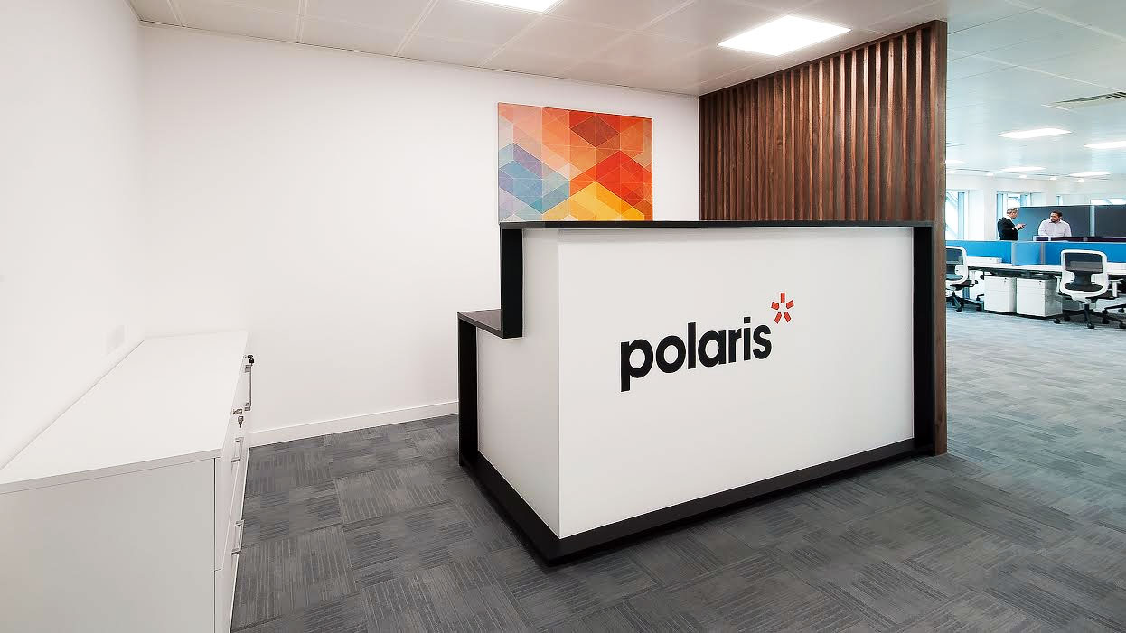 Office Signs London for Polaris, Reception Signs